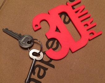 3D Print Key Ring