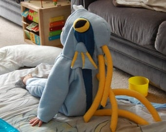 Baby Murloc Childrens Kigurumi Costume Suitable For Halloween or Conventions MADE TO ORDER