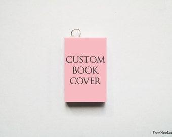 Custom Miniature Book Charm