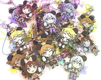 Kingdom Hearts charms