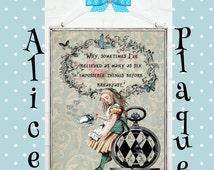 Alice in Wonderland Print Nursery Baby Gift Wall Decor Kid Room Alice in Wonderland Decor Baby Shower Alice in Wonderland Decoration C:A019