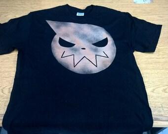 Soul Eater Logo Bleached Shirt