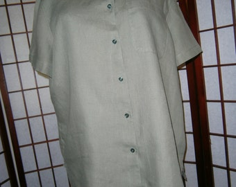 Women's Blouse - Irish Linen