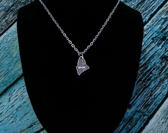 State of Maine necklace