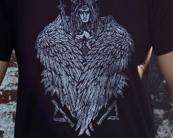 Valkyrie T-shirt - vikings, mythology, clothing, shirt, norse