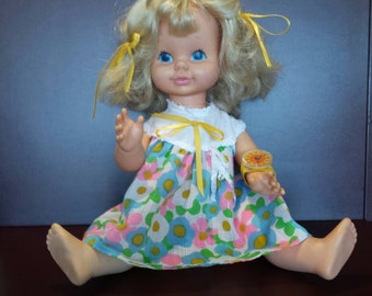 TELL TIME DOLL by Mattel 1969
