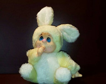 Easter Bunny Monchichi from the 80'S