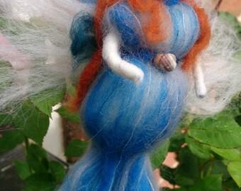 Carita - wool felt mermaid faerie