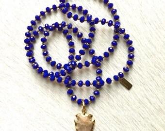 Brooklyn Blue Necklace
