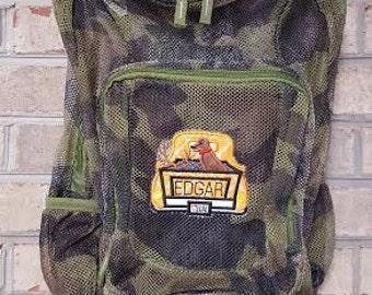 Monogrammed Backpack | Mesh Backpack | Back to School | Camo Backpack | Boys Backpack | Book Bag | Hunting Backpack | School Bag | Backpack