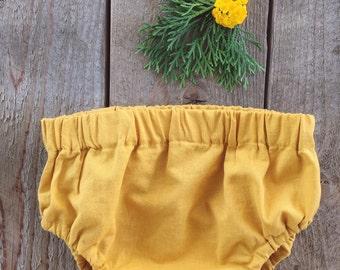 Mustard Yellow Bloomers