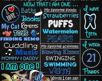 Finding Nemo Birthday Theme