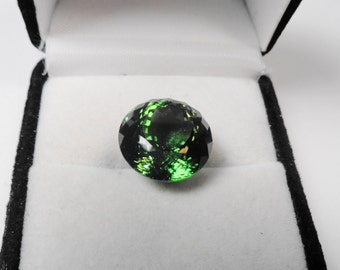 Tourmaline Gem. With Appraisal a 14.85ct. Tourmaline Portuguese Round Natural Gemstone.