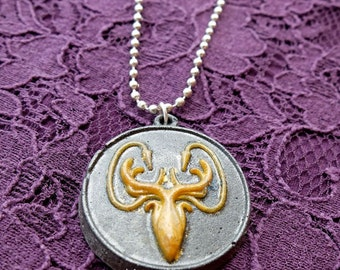 Game of Thrones Greyjoy Necklace Handmade