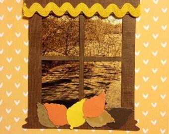 Window Series - Autumn#1