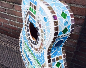 customized mosaic guitar