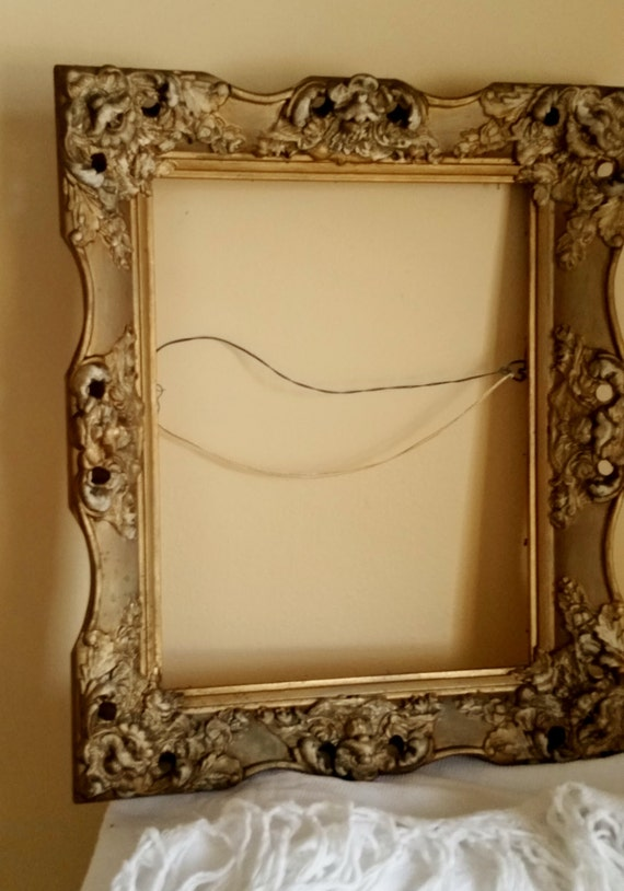 Rococo Gesso Baroque Wood Frame Antique Vintage Gilded French