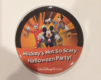 Mickey's Not So Scary Halloween Party (Part 1) Celebration Button
