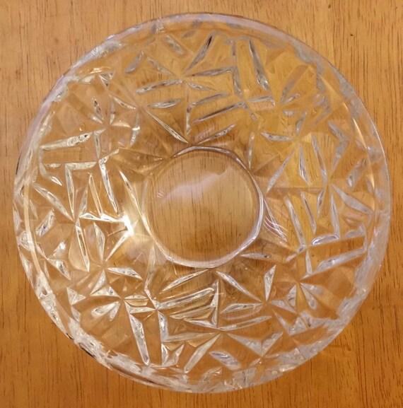 Tiffany Amp Company Rock Cut Crystal Bowl 6