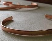 Polished Copper Cuff