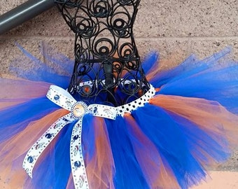 Denver Broncos NFL football tutu skirt for girls