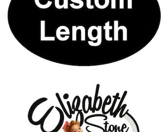 Custom Length for 1 Elizabeth Stone design Dress