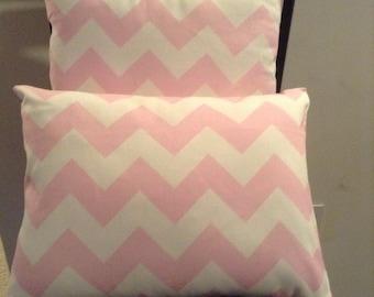 Pink Chevron Pink Pillow Chevron Pillow Home Decor Pillow Decorative Pillow