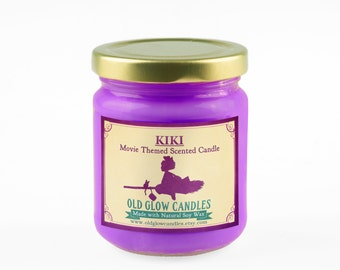 Kiki's Delivery Service Inspired Scented Soy Candle - Studio Ghibli