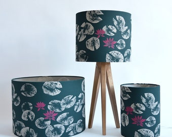 Water Lilies Lamp Shade