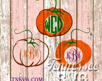 Halloween svg pumpkin monogram svg fall svg fall for Monogram pumpkin templates