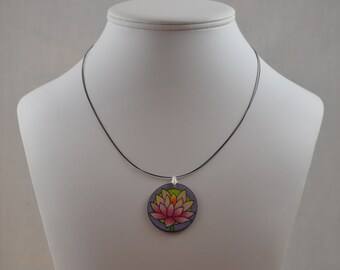 Lotus Necklace