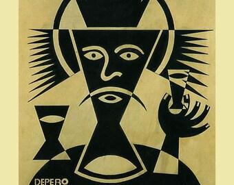 Bar Campari L'Aperitivo Aperitive Italy Italia Drink Italian Art Deco Vermouth Vintage Poster Repro FREE SHIPPING in USA