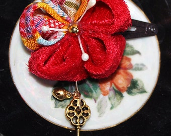Key to Sunset Kanzashi