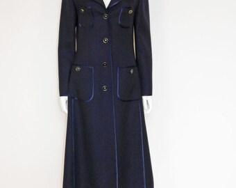 LOUIS FÉRAUD dream coat 1970s vintage Gr. 36-38/S