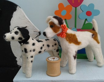 Handmade Needle Felt Animals.