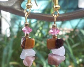 Lover ~ SoulSpeaker Charmed Earrings (One of a Kind)