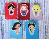 Disney Princess Magnetic Bookmarks