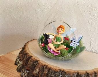 Disney's Fairies Inspired Terrarium