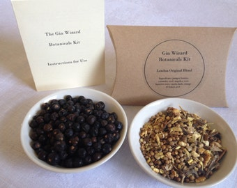 Home made Gin. Botanicals Kit in 3 easy steps - Free Shipping