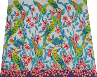 "42"" Wide Floral Print Fabric For Sewing Decorative Drape fabric For Quilting Dressmaking Material By The Yard  ZBC4236"