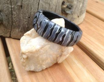 Shades of Gray Bracelet