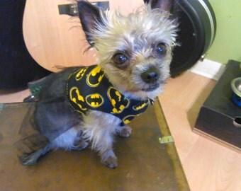 Batman Doggie Dress
