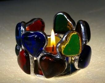 Heart Candle Votive