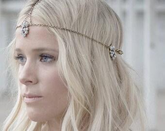 Bridal Headpiece // Bohemian Headpiece // Wedding Headpiece