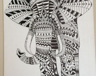 Zentangle Canvas Paintings