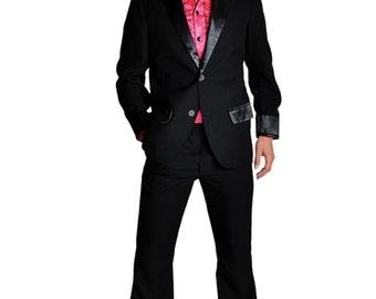 70's Pimp Suit - Black