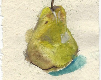 And I Loved That Pear, And I Ate That Pear