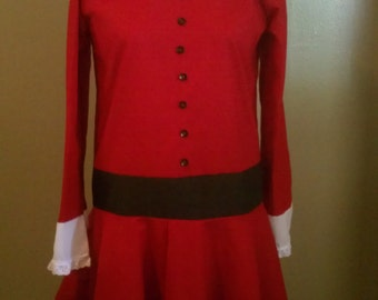 Veruca Salt Dress from Willy Wonka and the Chocolate Factory (1971) Made To Order Women's Sizes
