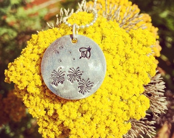 Save The Bees Necklace - Hand Stamped Goodness, Pollinator, Honey, Apiary, Hive, Beekeeping, Protect the bees, Bee Jewelry, Love Charitable