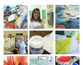 Online Class...Art Play....mixed media art techniques